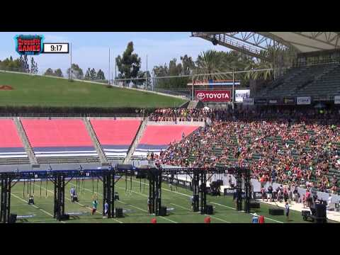 2014 Reebok CrossFit Games -  Individual Muscle up Biathlon Men Heat 3