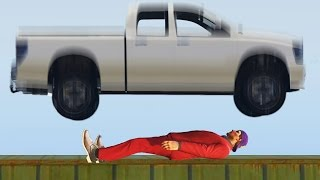 GETTING CRUSHED OUT OF THE WORLD! (GTA 5 Funny Moments)