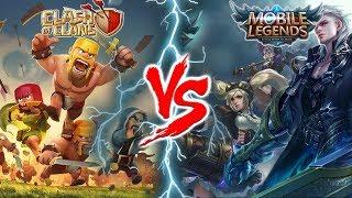 Benarkah 6 Alasan Ini Penyebab Mobile Legends Mengalahkan Clash Of Clans ?
