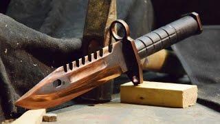 getlinkyoutube.com-M9 Bayonet CS:GO (Best Skin) - Knife Making