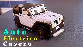 getlinkyoutube.com-Como Hacer un Auto a Motor Eléctrico Casero ( Super Rapido )