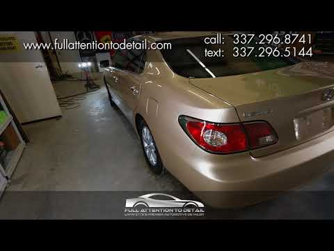 2003 Lexus ES300 - Tier-2 Correction Package