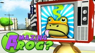getlinkyoutube.com-Amazing Frog Gameplay - TV COLLECTION CHALLENGE - Part 7 | Pungence