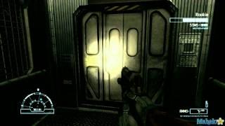 "getlinkyoutube.com-Aliens vs Predator Walkthrough - Marine: Mission 2 ""Refinery"" Part 1"