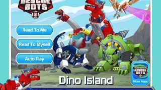 getlinkyoutube.com-Transformers Rescue Bots Games - Dino Island - Kid Friendly Android Gameplay in HD