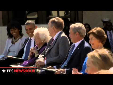 Watch President Bill Clinton speak at the Dedication of the George W. Bush Library