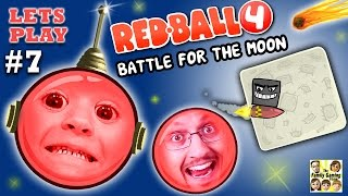 getlinkyoutube.com-REDBALL 4 is BACK!  Chase & Dad go to SPACE 2 Battle for the Moon Levels 46-55 (Part 7 Gameplay)