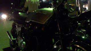 getlinkyoutube.com-Kawasaki Z750FX  vs  Z2 勝負 排気音!