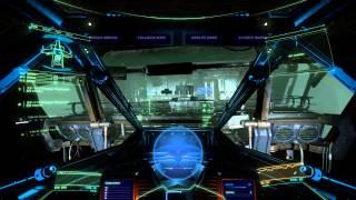 getlinkyoutube.com-Star Citizen 1.1.1 VFG Industrial Hangar (Astroid Hangar) in Free Flight