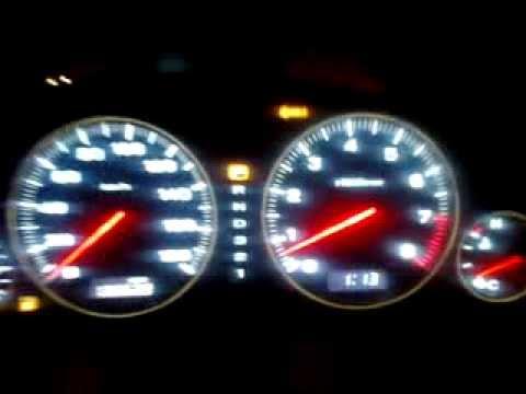 Установленный оптитрон на Subaru Legacy Outback часть 1