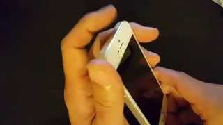 getlinkyoutube.com-Iphone 5: How to Fix Display that Wont Turn On / Black Screen / Nothing on Display