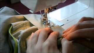 getlinkyoutube.com-How to sew the collar - Carme Sew-Along