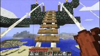 getlinkyoutube.com-Minecraft - Zipline Mod