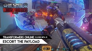 getlinkyoutube.com-Transformers Online (CN) - Escort the Payload mode (Closed Beta 3)