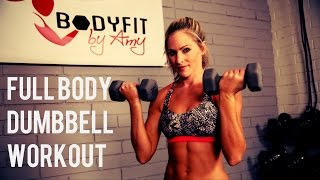 getlinkyoutube.com-30 Minute Full Body Dumbbell Workout