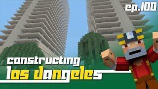 getlinkyoutube.com-Minecraft Xbox 360: Constructing Los Dangeles - Episode 100! (Live Stream Special!)