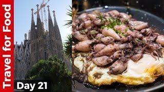 Barcelona Food Tour at La Boqueria and Breathtaking Sagrada Familia