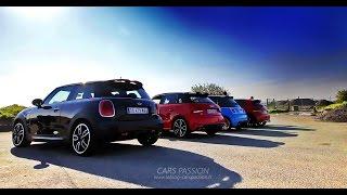 getlinkyoutube.com-Best sound exhaust sport cars ? Abarth, 208 GTi, Mini JCW, Audi S1