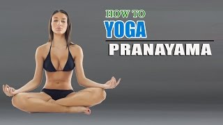 getlinkyoutube.com-How To Do Yoga Pranayama Breathing Exercises For Weight Loss