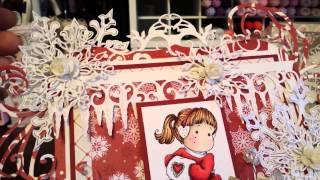 getlinkyoutube.com-Last  Magnolia Tilda Card Share of 2014