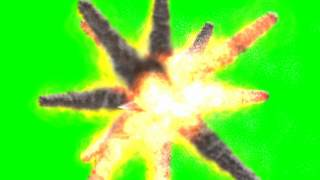 getlinkyoutube.com-green screen - ufo explode various movements