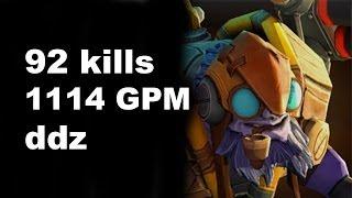 getlinkyoutube.com-ddz Tinker 92 Kills in Pub Match 1114 GPM Dota 2