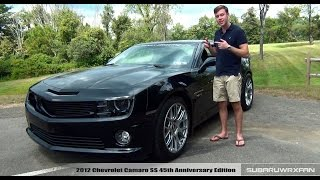 Review: 2012 Chevy Camaro SS 45THR