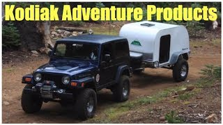 getlinkyoutube.com-Kodiak Adventure Products - extreme teardrops :self reliance expo