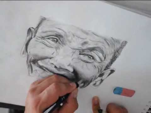 REALISTIC PENCIL ART - How to draw a BEAUTIFUL! face!!