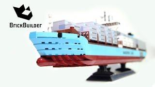 getlinkyoutube.com-Lego Creator 10241 Maersk Line Triple-E - Lego Speed Build
