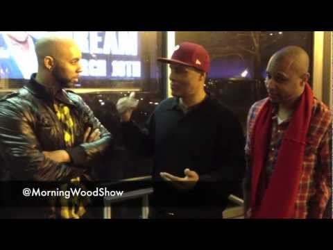 The Morning Wood Show Interviews Frank Gatson