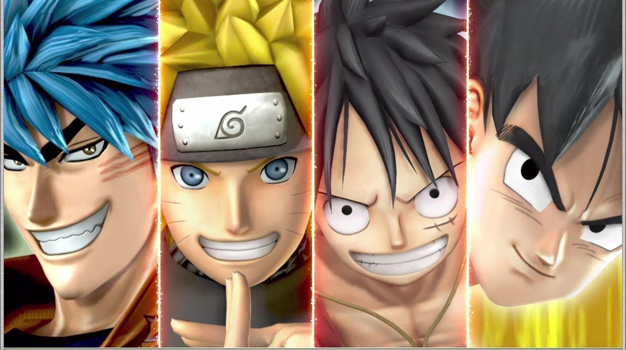 [video] Jika Naruto versus Luffy siapa yang akan menang? Bagaimana kalau Son Goku dari Dragon Ball juga bergabung? Berikut ini iklan game dari Namco Bandai Games J-Stars Victory Vs yang akan dirilis untuk Playstation 3 dan Playstation Vita