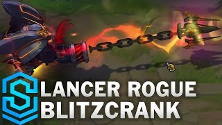 Lancer Rogue Blitzcrank Skin Spotlight - Pre-Release - League of Legends