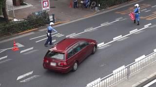 getlinkyoutube.com-【ネズミ捕りの瞬間】速度取締りで違反車に強制停止の瞬間