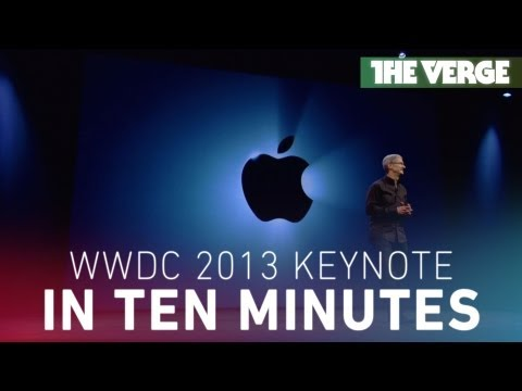 Apple's WWDC 2013 keynote in 10 minutes