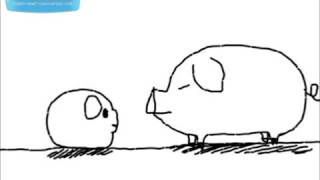 getlinkyoutube.com-卡漫動畫 - 超爆笑 - 大豬和小豬的對話