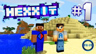 "getlinkyoutube.com-Minecraft Mods - Hexxit Ep 1 - ""VOLCANO DIAMONDS!"" - w/ Ali-A & Vikk"