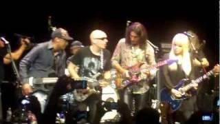getlinkyoutube.com-Little Wing - Steve Vai, Joe Satriani, Orianthi (Live House of Blues, Hollywood 7-10-2011)