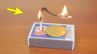 getlinkyoutube.com-5 Magic Tricks with Matches