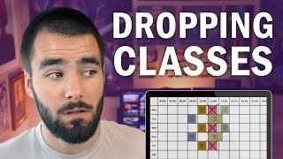 Class Schedule Advice: Dropping a Course - College Info Geek