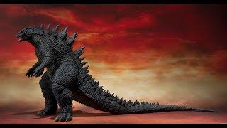 getlinkyoutube.com-Godzilla 2014 Against Gigan (( Stop Motion Series))
