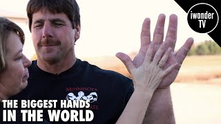 getlinkyoutube.com-THE BIGGEST HANDS IN THE WORLD | THE REAL LIFE POPEYE