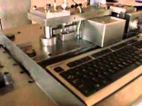Maquina dobladora automatica para troqueles (suajes)