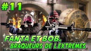 getlinkyoutube.com-Fanta et Bob dans PAYDAY 2 - Ep.11 - Tableaux Ninjaaa !