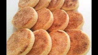 getlinkyoutube.com-Reteta Harcha - Semolina Bread - الحرشة بالحليب