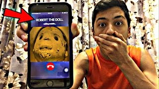 CALLING ROBERT THE DOLL *OMG HE ACTUALLY ANSWERED*