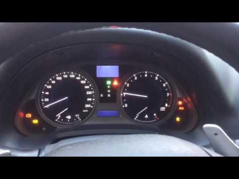 Lexus is250 холодный запуск