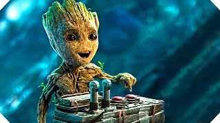 getlinkyoutube.com-Guardians of the Galaxy 2 - BABY GROOT Button Clip !