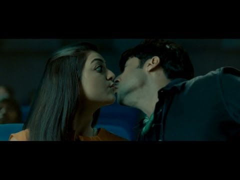 Making of Suriya Kajal Agarwal lip kissing scene in Maatran