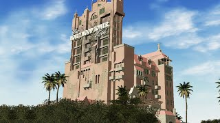 getlinkyoutube.com-The Hollywood Tower Hotel - Tower of Terror CFR